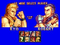 Art of Fighting sur SNK Neo Geo